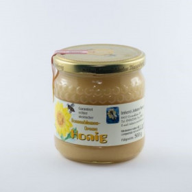 Sonnenblumencreme-Honig 1/2kg