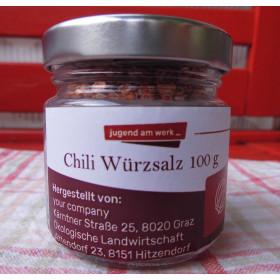 Chili Würzsalz 100g
